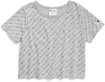 Champion Life Womens Cropped Tee Short Sleeve T-Shirt