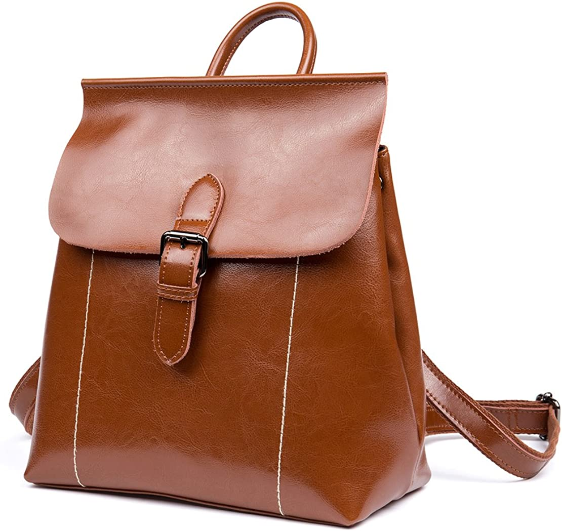 OSONM Backpack Cow Leather...