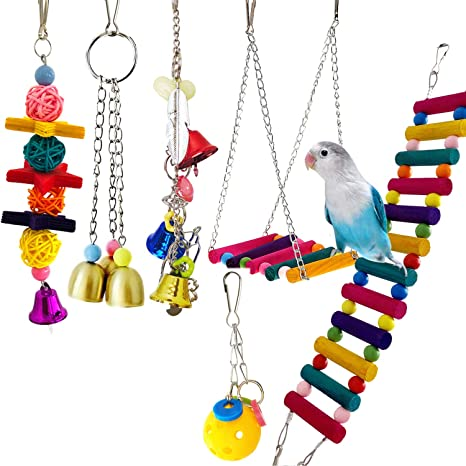 Ferret Hanging Blue Dolphin Pulley /& Foraging Toy Charms Birds Hamster and Rat Toy Fish for Sugar Gliders Parrot Small Animal