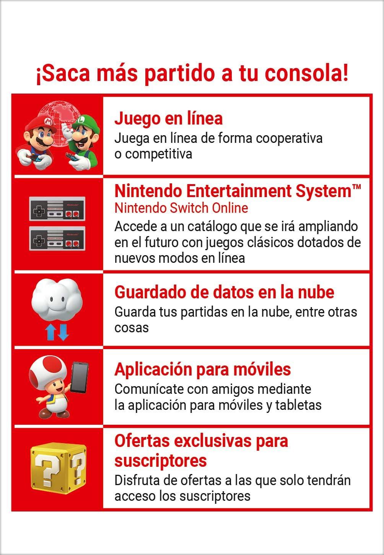 Switch Online Suscripción Familiar de 12 Meses | Nintendo Switch - Código de descarga: Amazon.es: Videojuegos