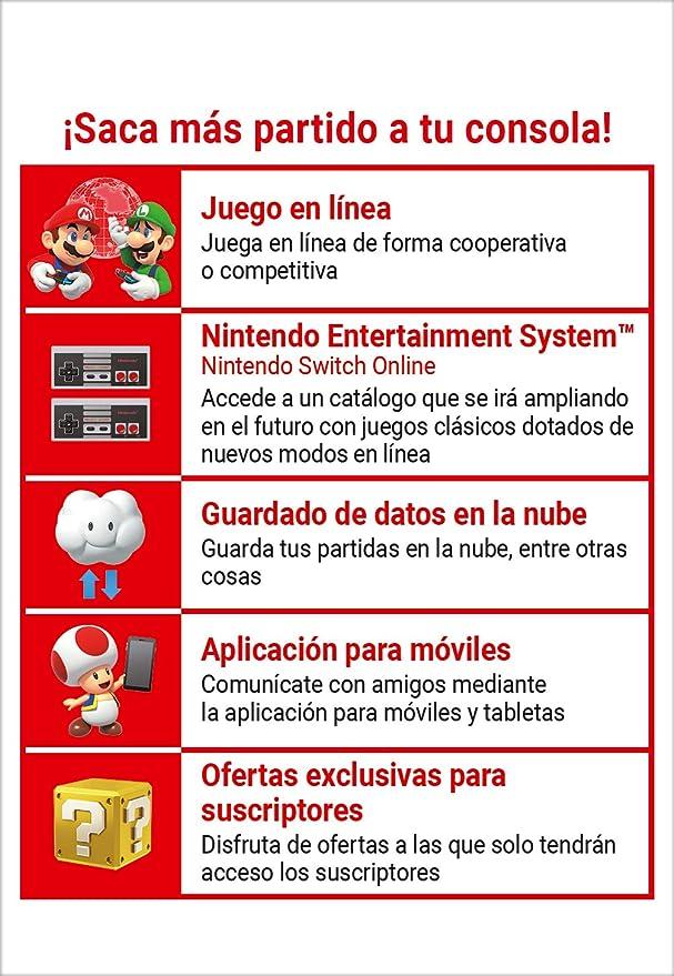 Nintendo Switch Online - 3 Meses | Nintendo Switch - Código de ...