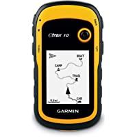 Garmin 010-00970-00 eTrex 10 GPS, Yellow and Black