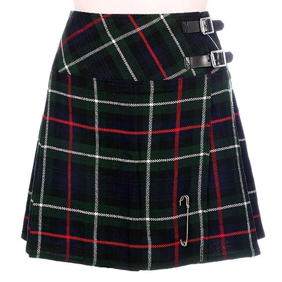 The Scotland Kilt Company Nuevo de Mujer Mackenzie de Cuadros ...