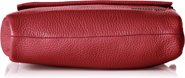 Mandarina Duck Mellow Leather Tracolla B x H x T 6x15x21 centimeters Negro Bolsos bandolera para Mujer