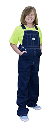 e3d96b36d2e76 Amazon.com: West End Blues Big Boys Soft Washed Denim Bib Overall ...