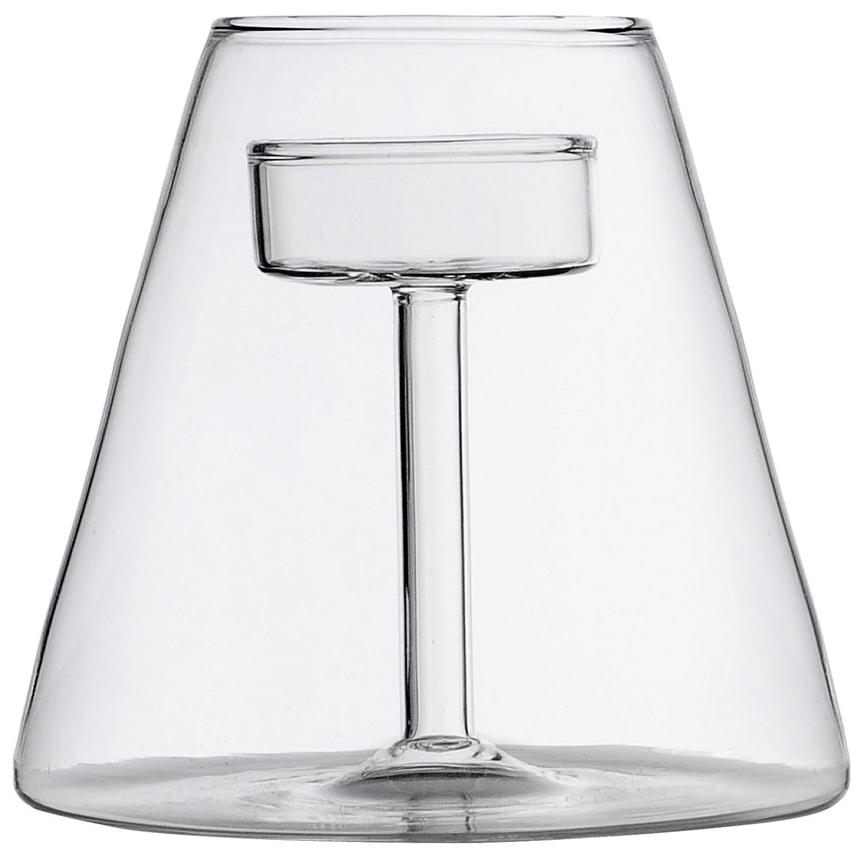 Ichendorf Milano 09365395 Abat-Jour Candeliere, Basso abatjour;candela;tealight;vetro;esterno;tavola