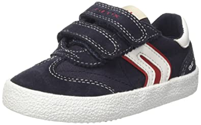 Geox JR Kilwi Boy - Sneakers Basses - Garçon - Vert (Green/Orangec0587) - 24 EU SHIrk