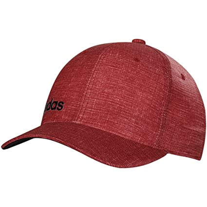 7788f935c263d adidas Cimacool Chino Print Flexfit Hat Power Red LG XL