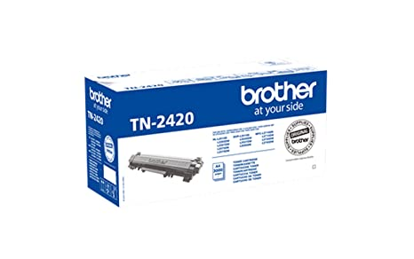 Brother TN2420 - Tóner negro original de larga duración para las ...