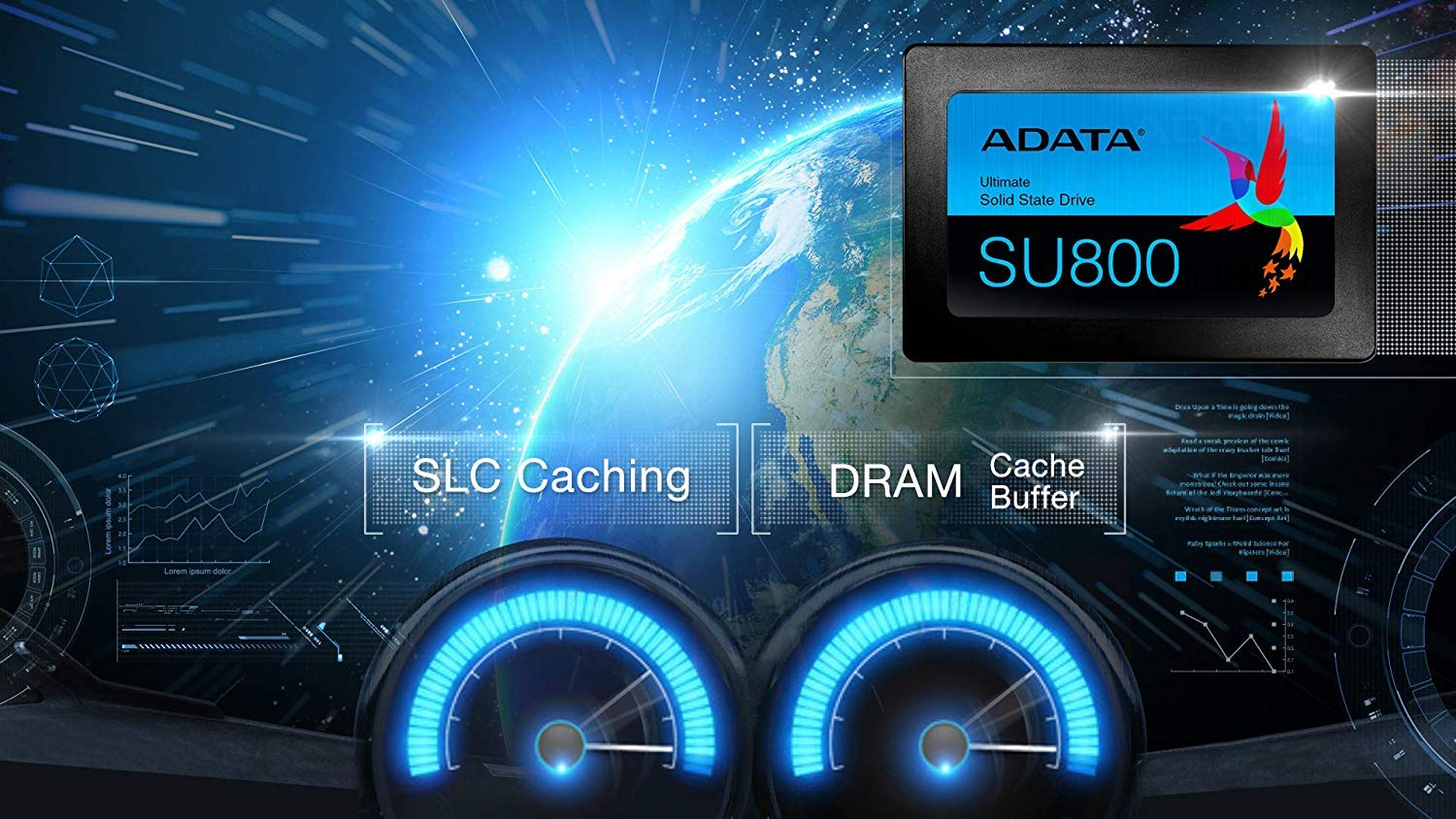 ADATA SU800 256GB 3D-NAND 2.5 Inch SATA III High Speed Read & Write up to 560MB/s & 520MB/s Solid State Drive (ASU800SS-256GT-C) by ADATA (Image #7)