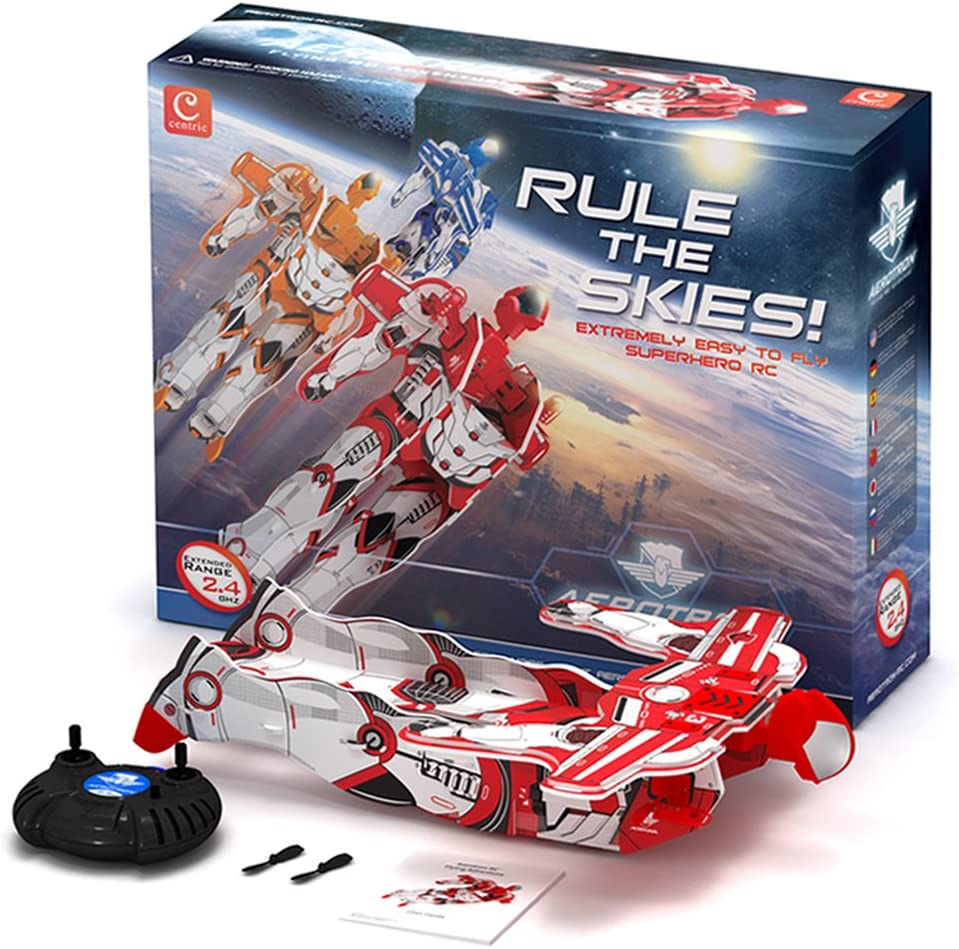 Red Aerotron-RC 2-Channel Radio Controlled Flying Man