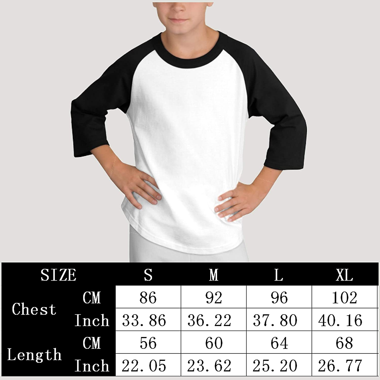 PUREYS-I Printed Make America Kind Again Adolescence Boy Cute Long Sleeves T-Shirt