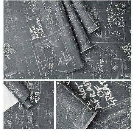 WPCBAA Cartel de Pizarra Vintage Cartas Blancas Papel Tapiz ...