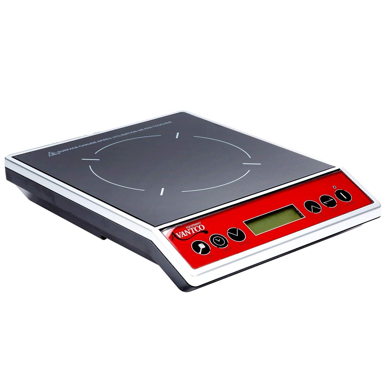 MareLight 1800-Watt Portable Sensor Touch Induction Cooktop Countertop Burner Range (4)