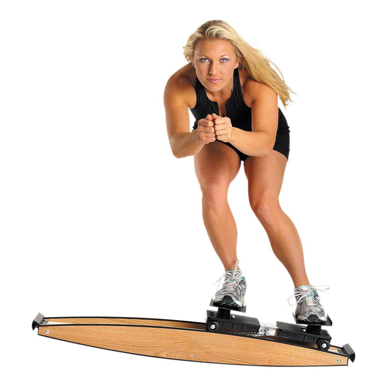 Ski Trainer Pro Fitter 2, Heimtrainer, Ganzkörpertrainer, 3D Crosstrainer Sport-Tec