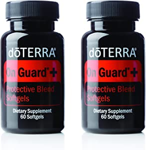 doTERRA On Guard Essential Oil Protective Blend Softgels 60 ct (2 Pack)