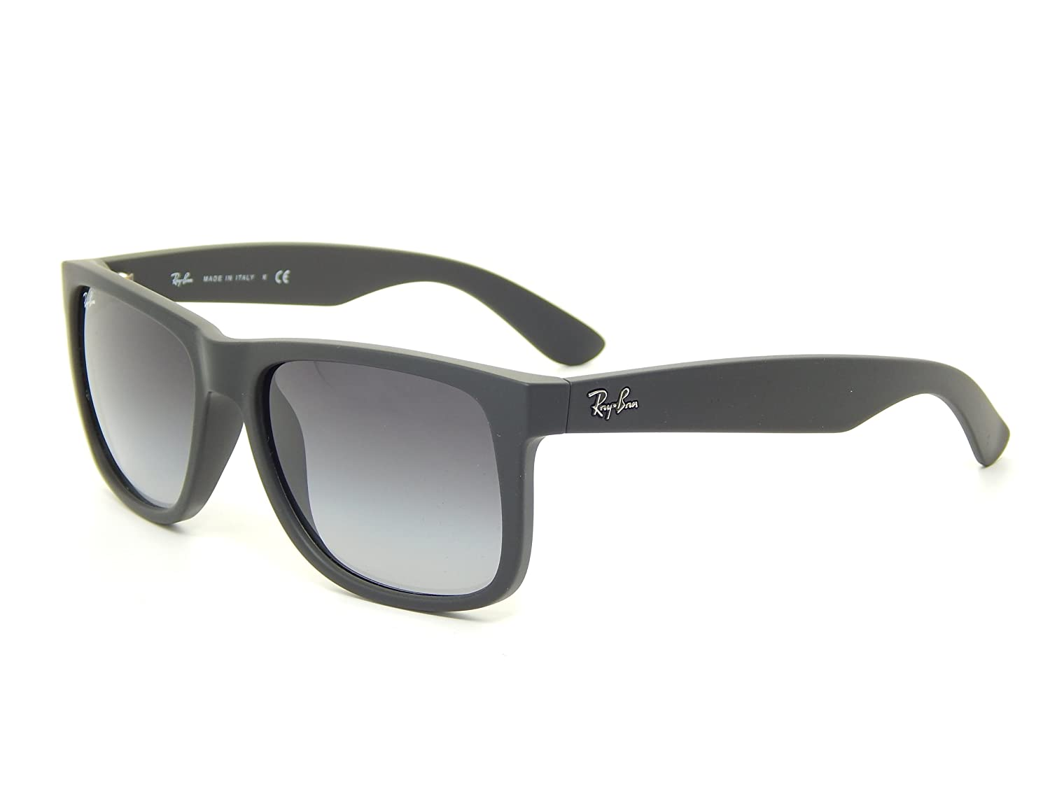 Ray Ban Justin RB4165 601/8G Black/Gray Gradient Lens 51mm Sunglasses
