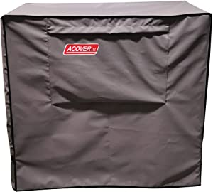 Waterproof 80-100 Qt Rolling Cooler Cart Cover Fits Most Patio Ice Chest Party Cooler Upto 43L x 22W x 32H inch