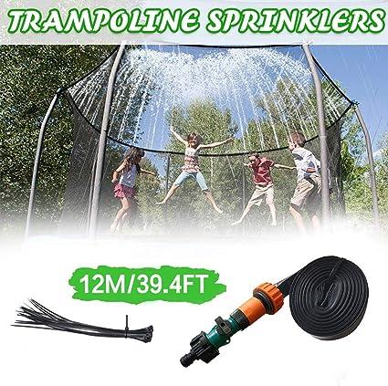Outdoor Wasserspiel Sprinkler für Trampolin, Trampolin Sprinkler Wasserpark