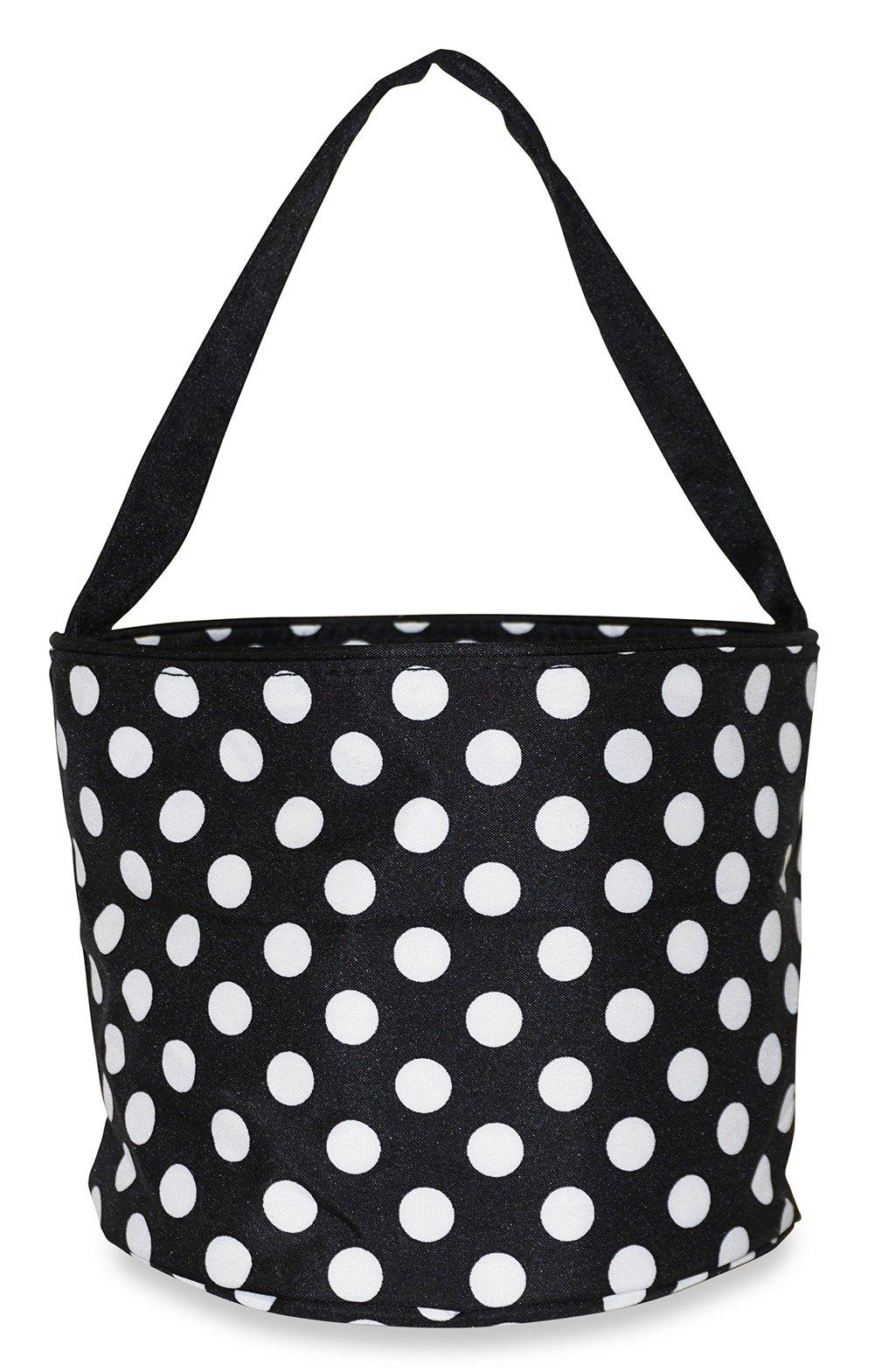 Ever Moda Polka Dot Caddy Basket Organizer