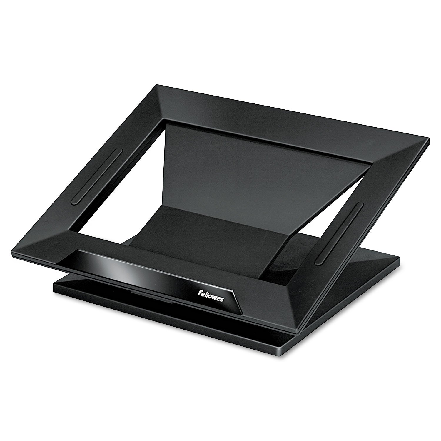 Fellowes Notebook Stand - Up to 17quot; Screen Support - 25 lb Load Capacity - 4quot; Height x 13.2quot; Width x 11.2quot; Depth - Black, Black by Fellowes (Image #1)
