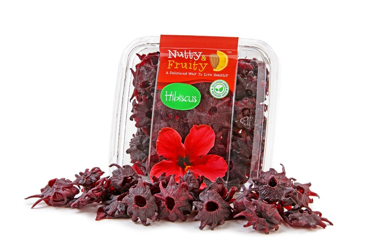 Amazoncom Dried Eatable Hibiscus Flower Grocery Gourmet Food