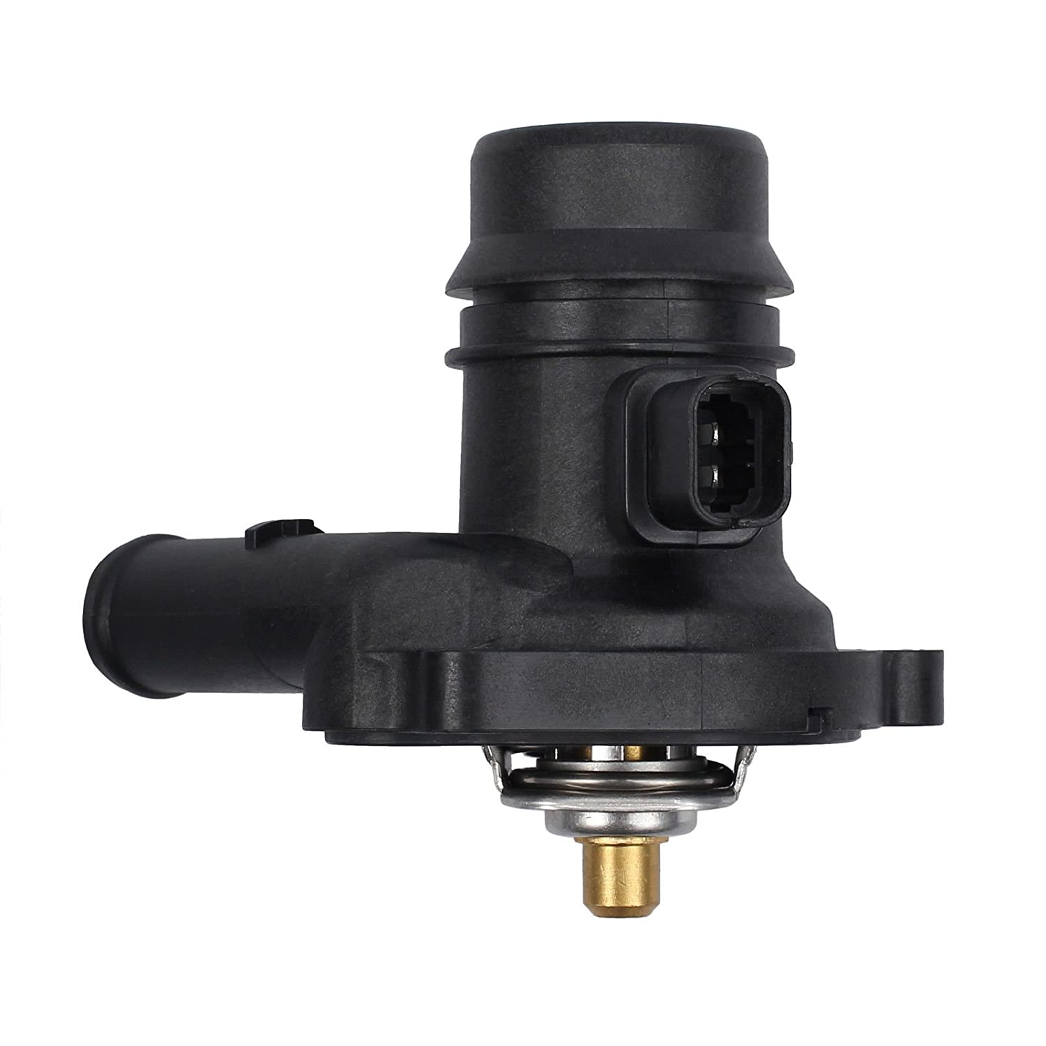 2011-15 Chevy Cruze L4 1.4L 2016 Chevy Cruze Limited Thermostat Housing/&Gasket 2012-17 Chevy Sonic L4 1.4L 55565336 AUTOUTLET Thermostat Engine Coolant Housing Water Outlet for 2013-17 Buick Encore