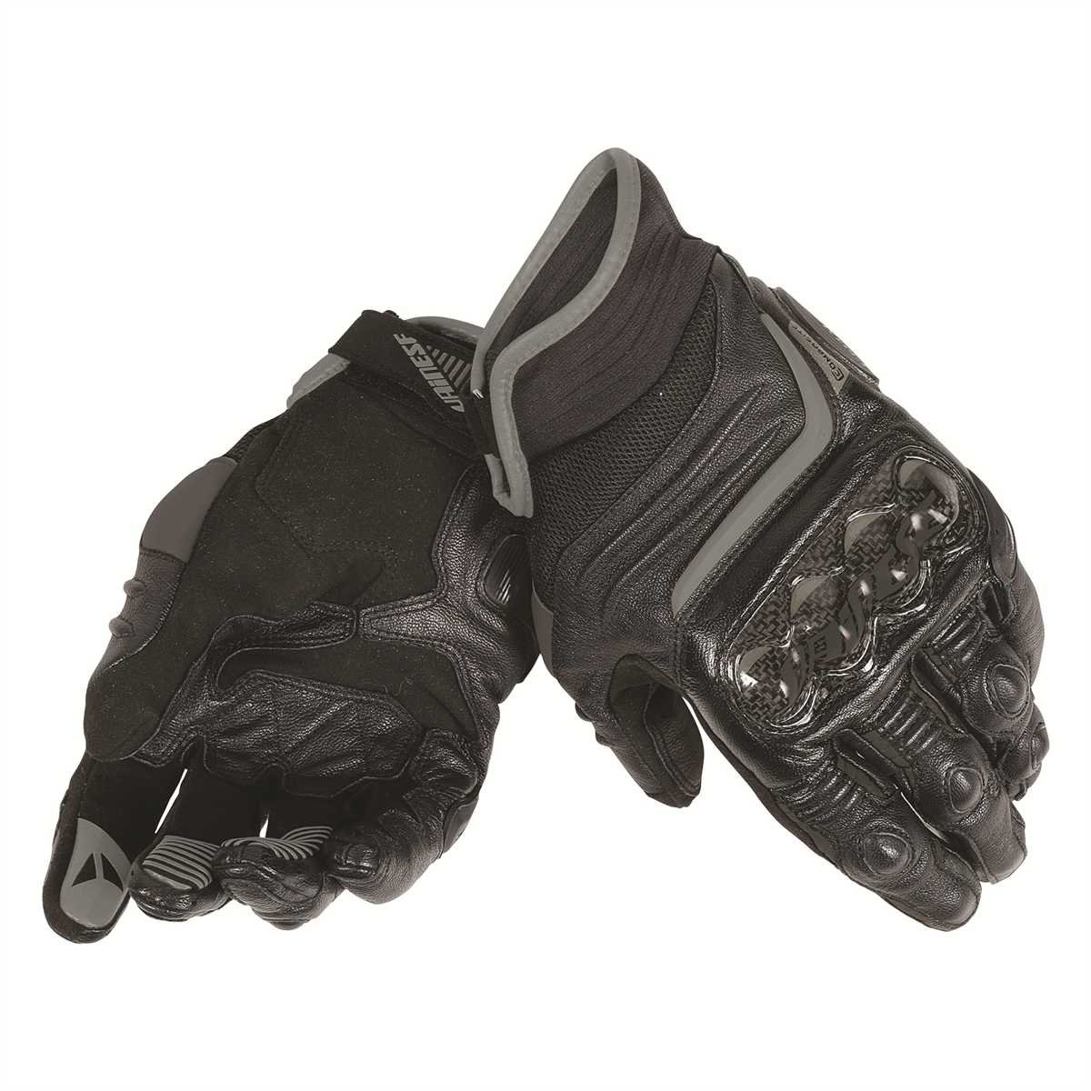 Motorcycle gloves tight or loose - Dainese Carbon D1 Short Mens Leather Motorcycle Gloves