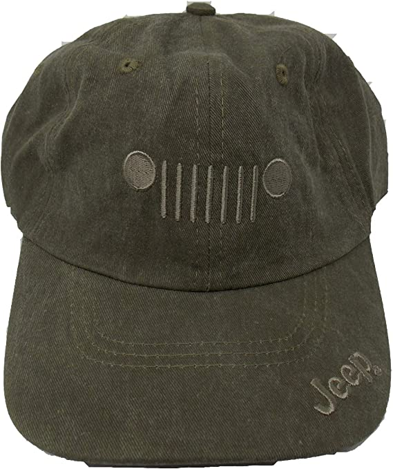 Jeep Gorra de Sarga, Adjustable, Verde Oliva: Amazon.es: Deportes ...