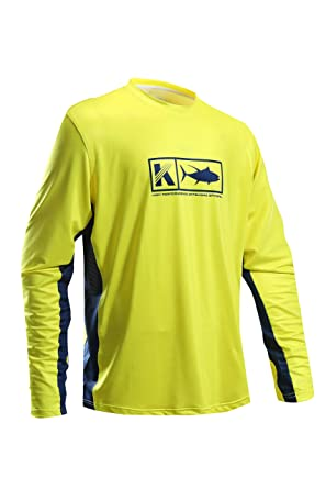 a56399a00e2 Performance Long Sleeve Shirt UPF 50 Mesh Quick Dry Fit Cooling Running  Fishing Hiking UV Sun