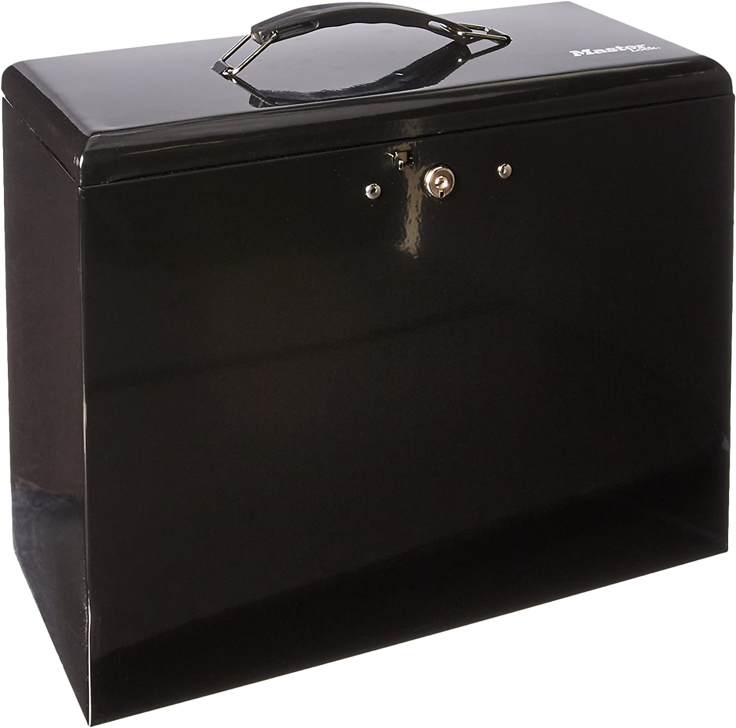Master Lock 7148D File Box, 0.49 Cubic Feet, Black