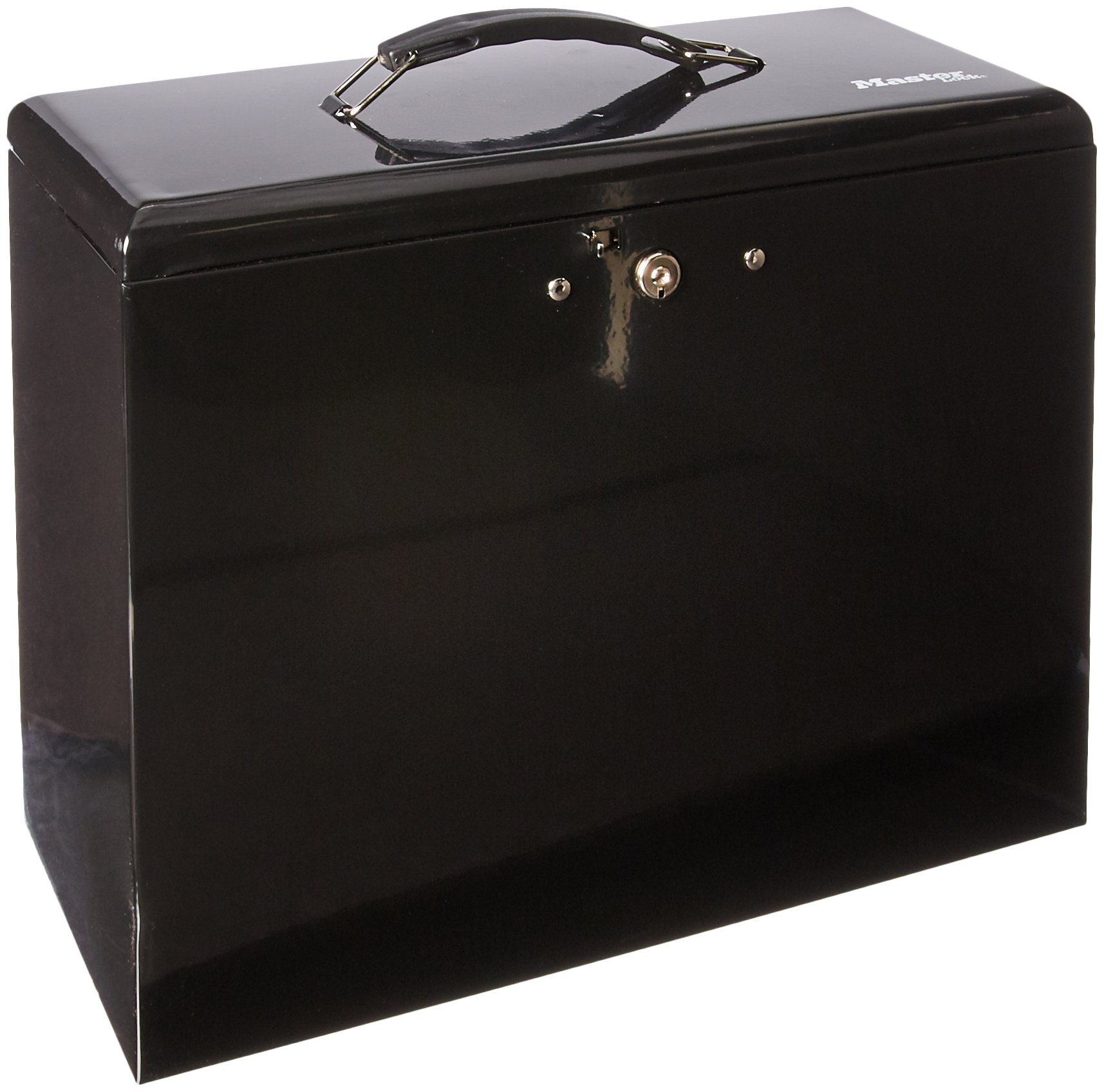 Master Lock 7148D File Box, 0.49 Cubic Feet, Black by Master Lock