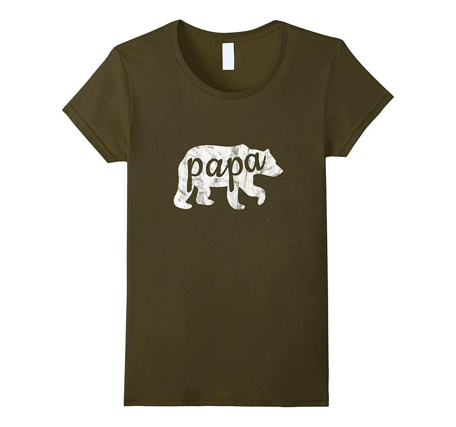 Papa Bear Shirt Funny Dad Son Matching Fathers Day Outfit