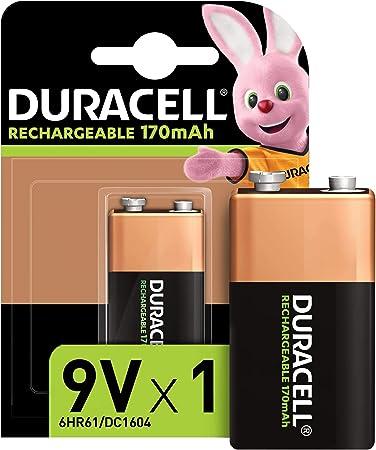 Duracell Recharge Ultra 9v Block Battery Batteries Elektronik