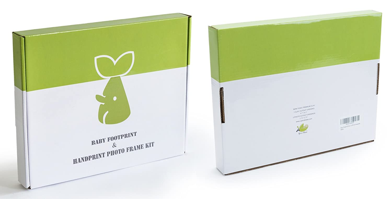 Up /& Raise Premium Clay Baby Footprint /& Handprint Picture Frame Kit