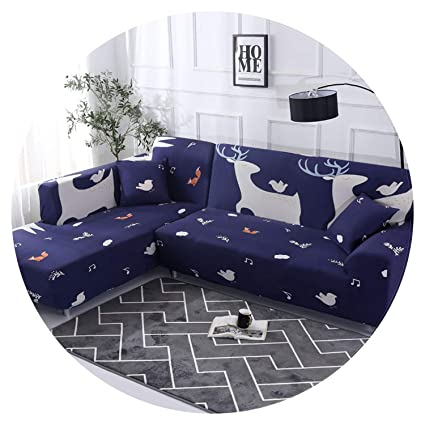 Amazon Com Geometric Pattern Sofa Cover L Shaped Sectional Couch