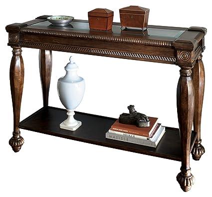 Amazon Com Ashley Furniture Signature Design Mantera Sofa Table