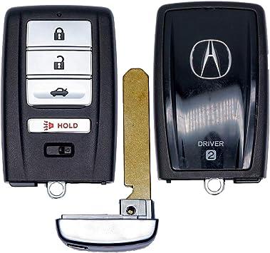 OEM Acura 4-Button Smart Proximity Key Fob Memory #2 FCC ID: KR5V1X, P//N: 72147-TZ5-A11