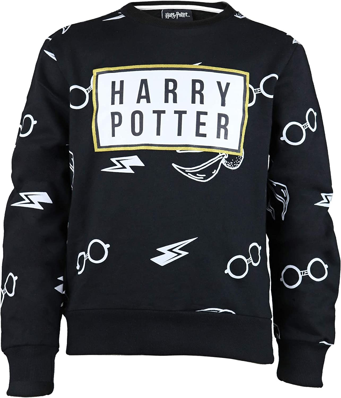 Official Merchandise Harry Potter Icons Girls Crewneck Sweatshirt