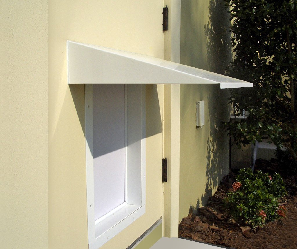 Amazon.com  PlexiDor Performance Pet Doors Universal Pet Door Awning White  Pet Doors And Supplies  Pet Supplies & Amazon.com : PlexiDor Performance Pet Doors Universal Pet Door ...