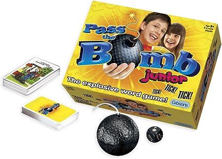 Gibson Games - Juego de acción (Gibson G994) (versión en inglés): Pass the Bomb Junior: Amazon.es: Juguetes y juegos