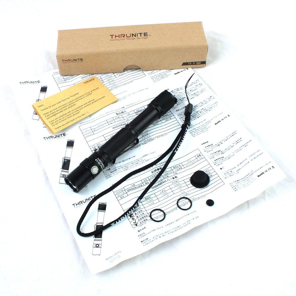 ThruNite Archer 2A V3 Cool White 500 Lumens AA LED Flashlight by ThruNite