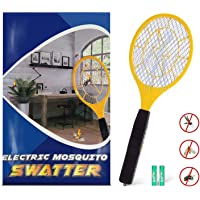Kekilo Bug Zapper, Electric Mosquito, Fly Killer, Bug Zapper Racket and Mosquito Swatter for Indoor and Outdoor Camping Pest Control, 3-Layer Safety Mesh That's Safe to Touch