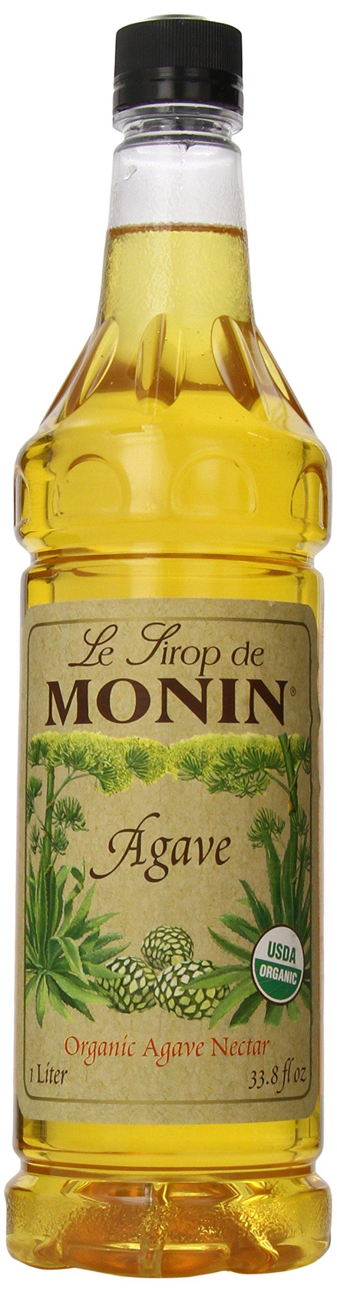 MONIN Agave Nectar Sweetner, 33.8-Ounce