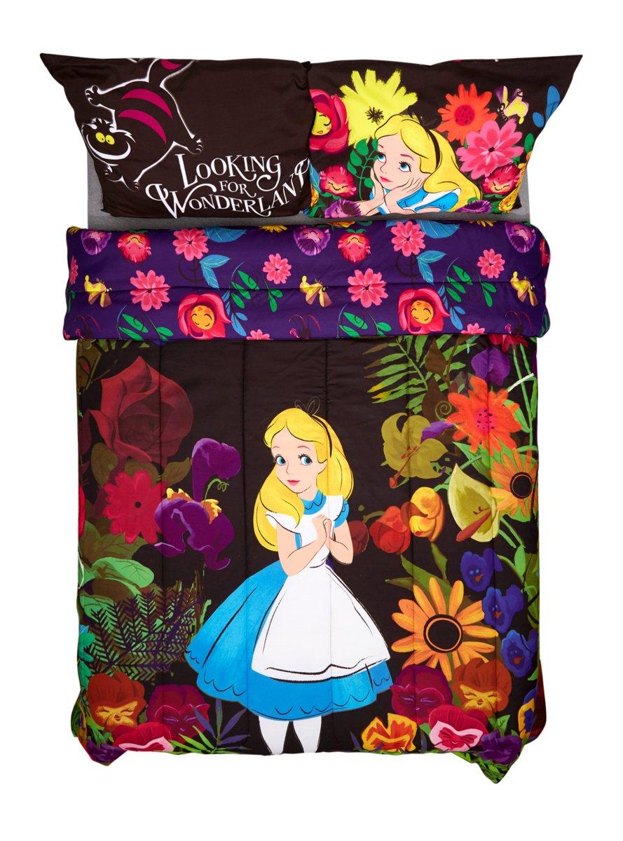 Disney Alice In Wonderland Alice In Forest Full/Queen Comforter
