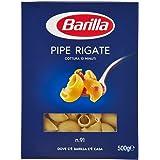Barilla Semola Pipe Rigate n.91-6 pezzi da 500 g [3 kg]