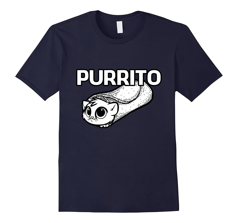 Purrito Shirt – Funny Burrito with Cat Shirt