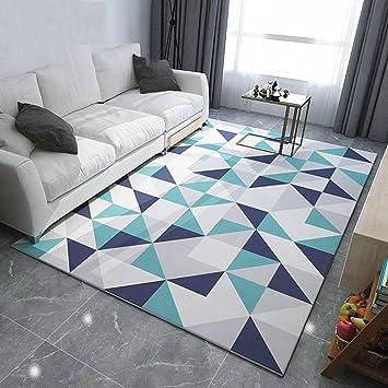 tapis scandinave rectangle gomtrie de leurope du nord grand tapis salon table basse chambre - Grand Tapis Salon