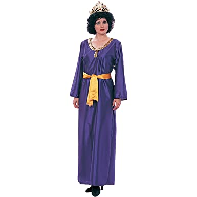 RG Costumes Women\u0027s RG Queen Eshther Adult 2 pc Costume, purple/yellow One  Size