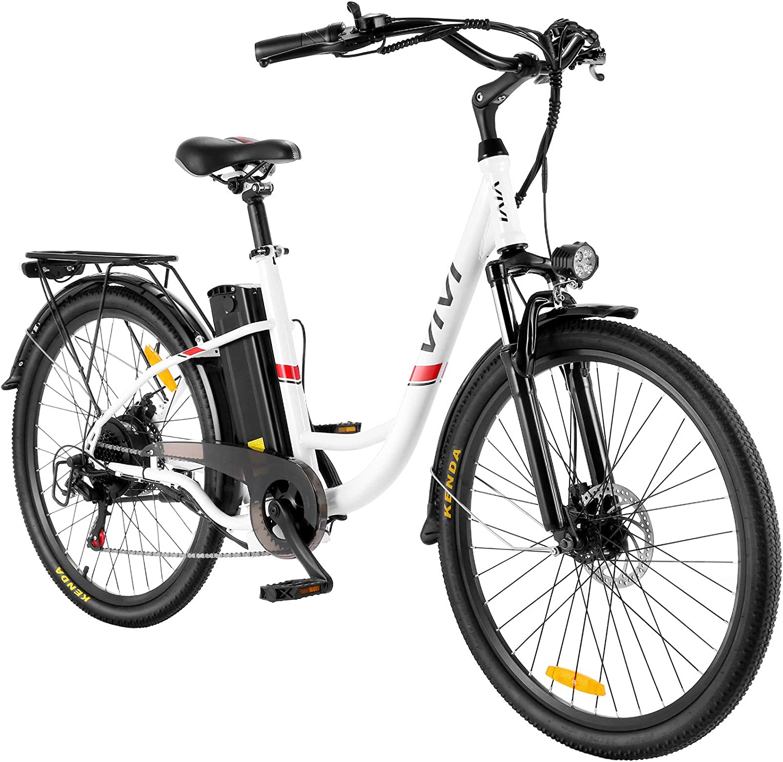 VIVI Electric Commuter 350W City Cruiser Bike